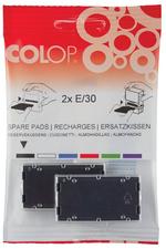Blister 2 recharges E/40 pour appareils Printer 40/C40. Noir