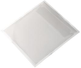 Pochette autoadhésive POCKETFIX CD/DVD, transparent