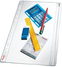 Pochette fourre-tout, A4, PVC, grainée, 0,20 mm