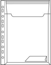 pochette perforée / porte-document CombiFile Maxi,