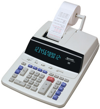 Calculatrice imprimante de bureau CS-2635 RH GY-SE