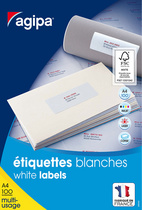 Etiquette universelle, 52,5 x 21,2 mm, POSE EXPRESS
