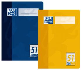 cahier Octave DIN A6, ligné, 90 g/m2, 64 pages,