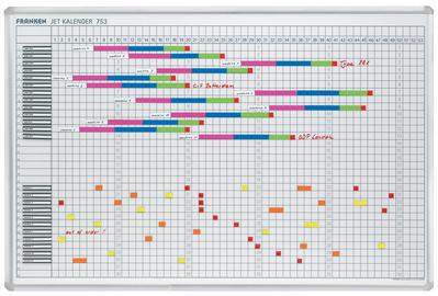 Tableau planning calendrier annuel ´JETKALENDAR´