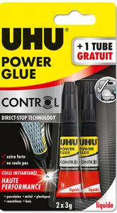 Colle instantanée POWER GLUE ultra rapide liquide, 3 g