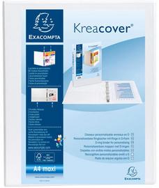 Classeur PP personnalisable Kreacover - 4 anneaux en D 20mm - A4 maxi