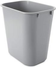 Corbeille à papier, 12,9 litres, rectangulaire