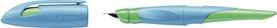 Stylo plume EASYbirdy L, gauchers, bleu/vert