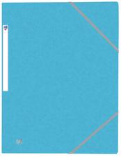 Chemise à élastique Top File+, A4, bleu clair
