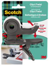 Dévidoir de ruban adhésif Clip & Twist